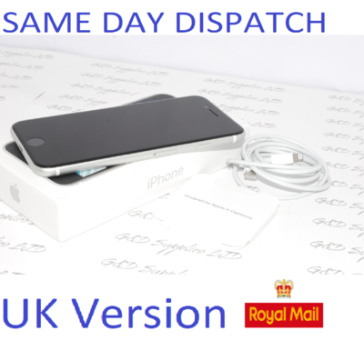 iPhone SE 2nd Gen (2020) unlocked MHGQ3B/A 64GB WHITE UK Version NEW Condition # !