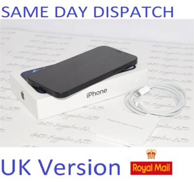 "iPhone 12 64GB 6.1"" 5G SIM-free Unlocked 12MP iOS 14 MGJ53B/A NEW Condition #"
