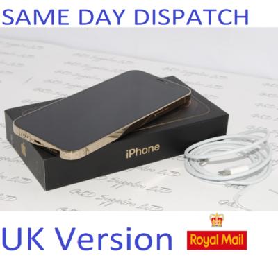 Apple iPhone 12 Pro MAX MGDE3B/A 256GB Gold Unlocked Sim-free  12MP UK Version NEW Condition #