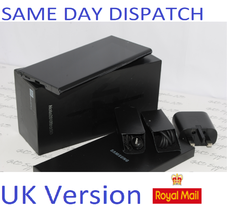 Samsung Note 20 Ultra 5G SM-N986B/DS  256GB  Mystic Black UK Version ##