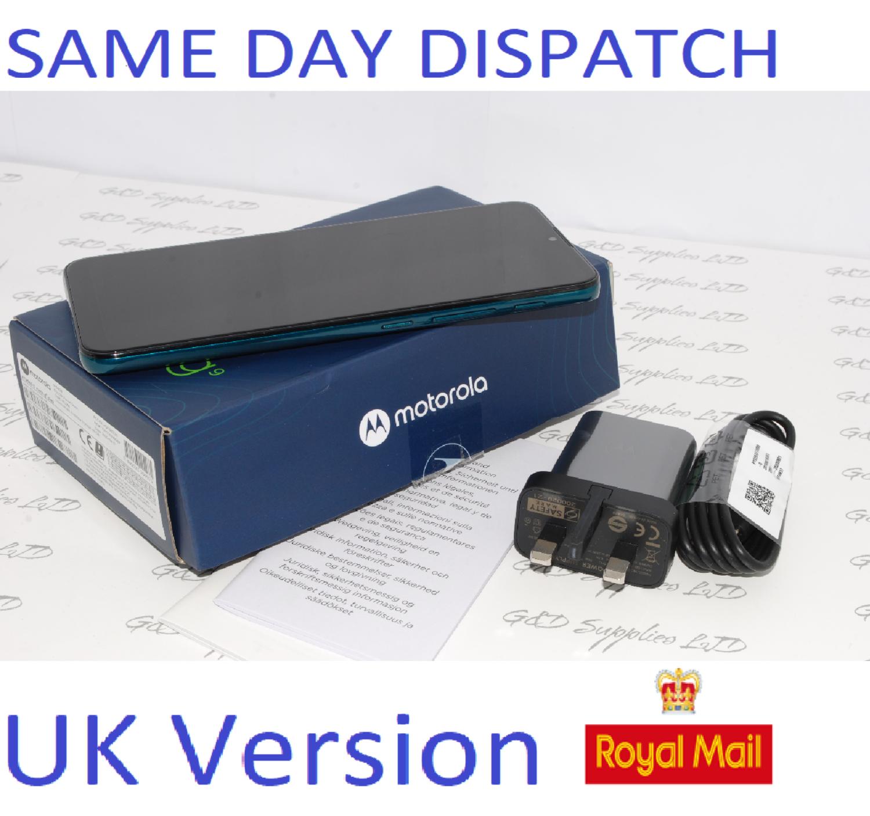 # Motorola G9 Play 64GB  unlocked sim-free Green  Dual SIM UK Version