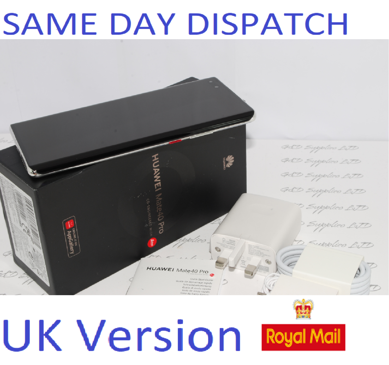 Huawei Mate 40 Pro 5G Dual-SIM NOH-NX9 Silver 256GB  UK Version #