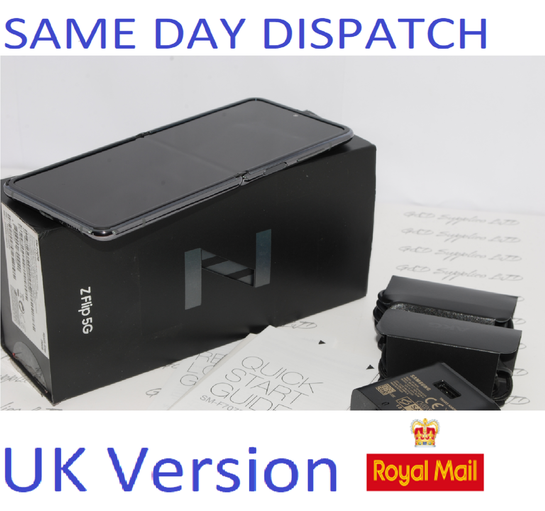 Samsung Z Flip SM-F707B Dual SIM 5G 256GB  Mystic Grey Unlocked UK Version !