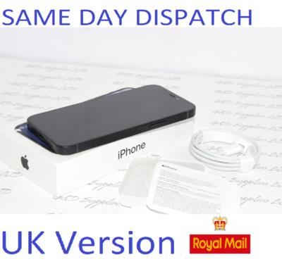 "# iPhone 12 Mini Black 5.4"" 64GB 5G Unlocked SIM Free MGDX3B/A UK Version"