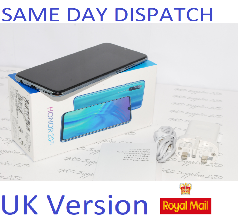 Honor 20e 64GB - Midnight Black Unlocked HRY-LX1T Dual-SIM 4GB  UK version #