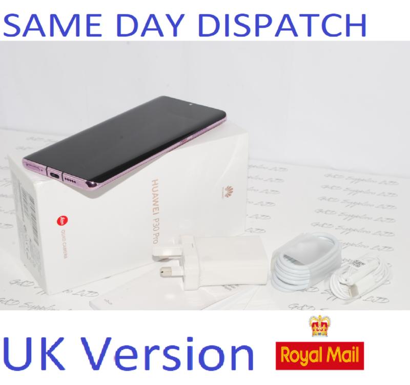 Huawei P30 PRO  128GB Lavender Dual SIM 8GB Sim UNLOCKED UK Version #