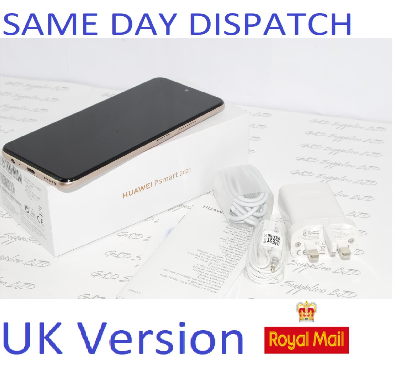 HUAWEI P Smart  128GB Gold 2021 UNLOCKED PPA-LX2 UK Version #
