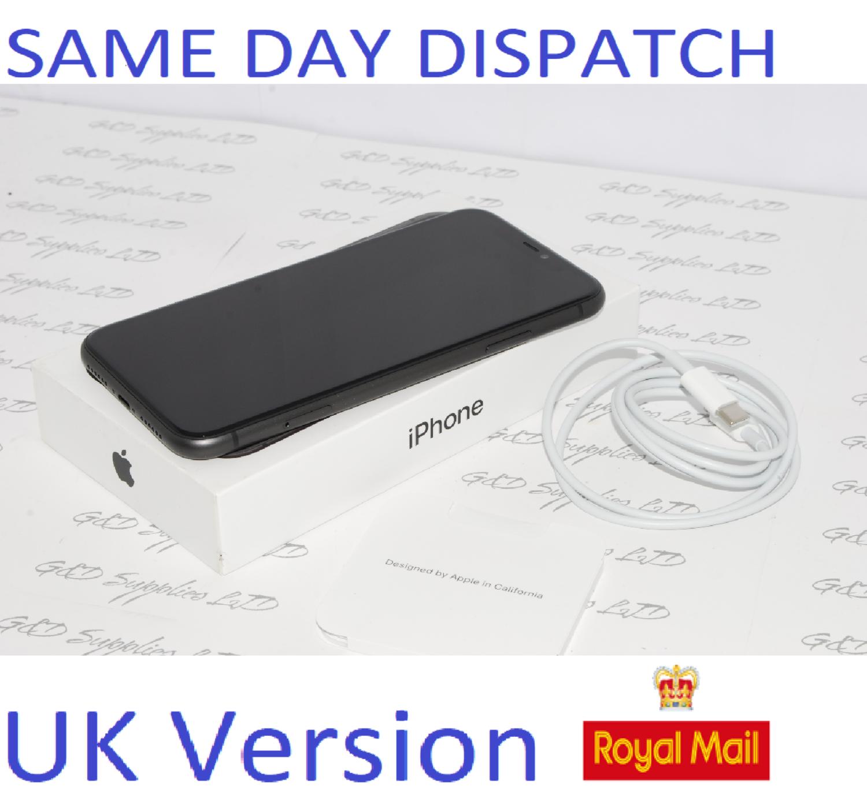 Apple iPhone 11 128GB Mobile unlocked sim-free BLACK UK Version NEW Condition #