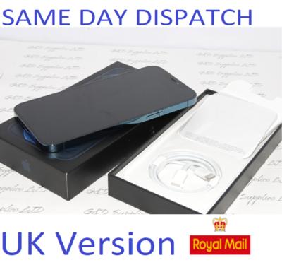 NEW Condition iPhone 12 Pro Max 128GB Blue Unlocked Sim-free 12MP UK Version
