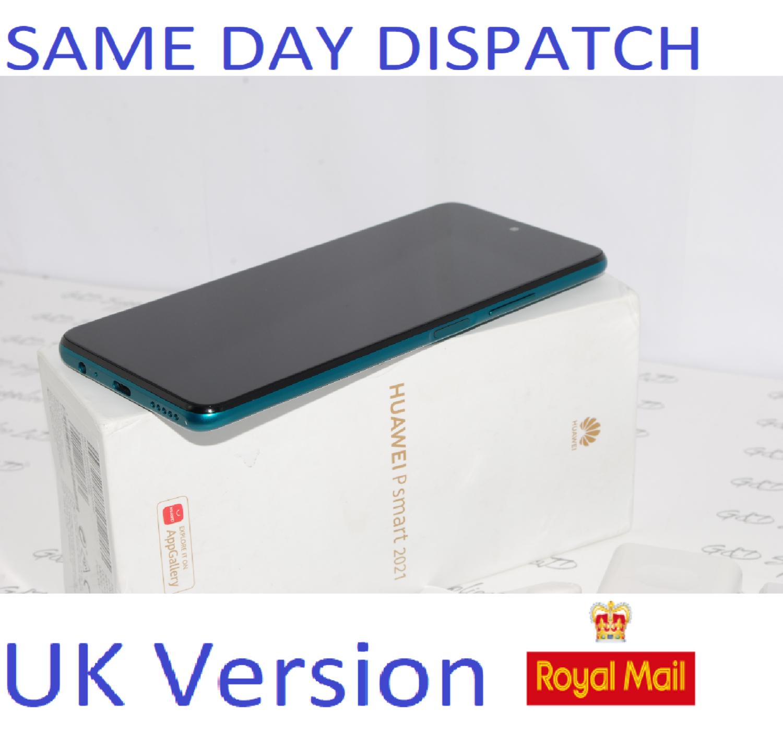 HUAWEI P Smart  128GB Green 2021 UNLOCKED PPA-LX2 UK Version #