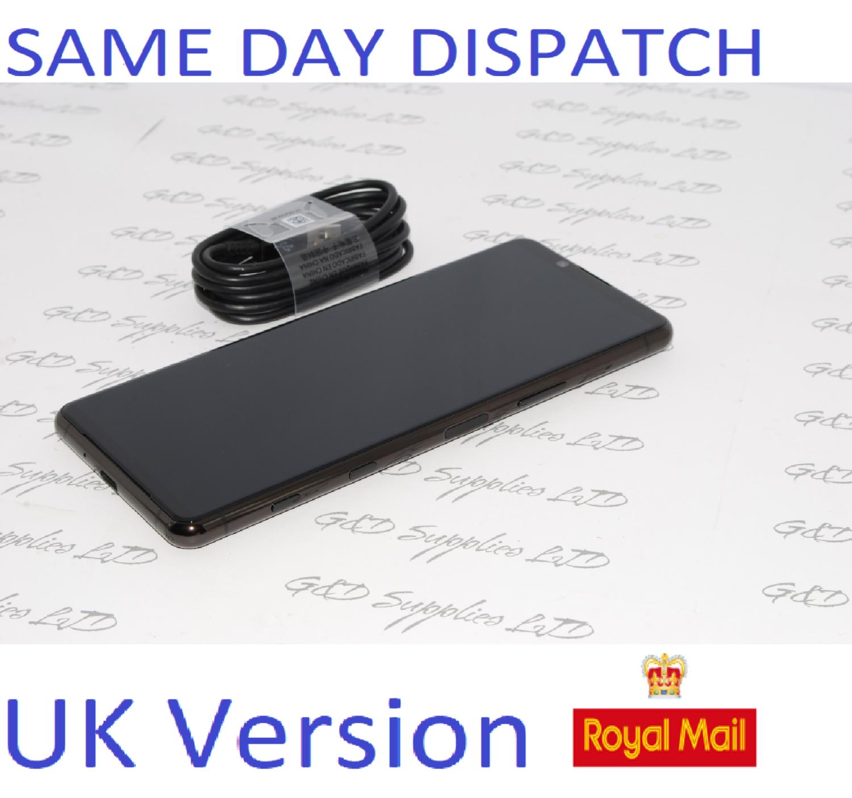 """SONY Xperia 5 II 128GB 6.1"""" Dual-Sim Black 5G unlocked uk version NO BOX"""