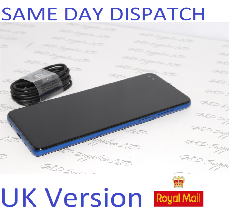 "MOTOROLA Moto G 5G Plus 64GB Surfing Blue 6.7"" Dual SIM UK Version NO Box"