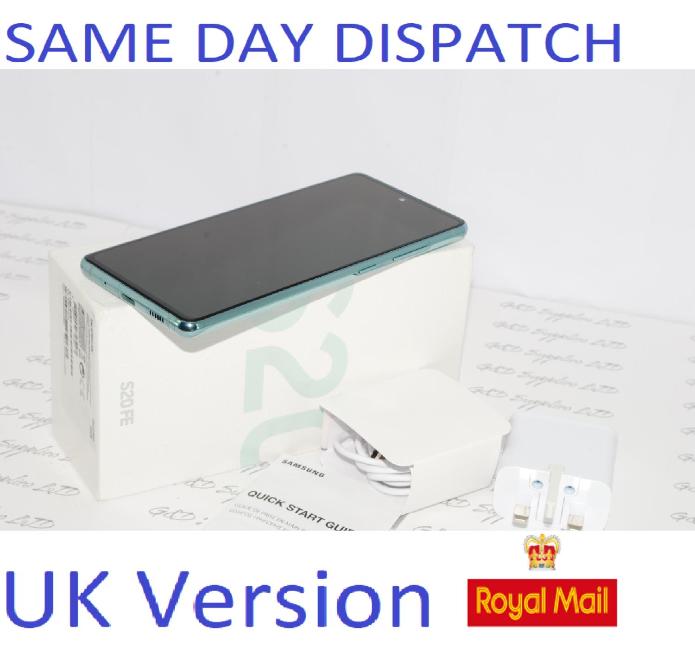 SAMSUNG Galaxy S20 FE SM-G780F/DS unlocked 128GB Cloud Mint UK Version #