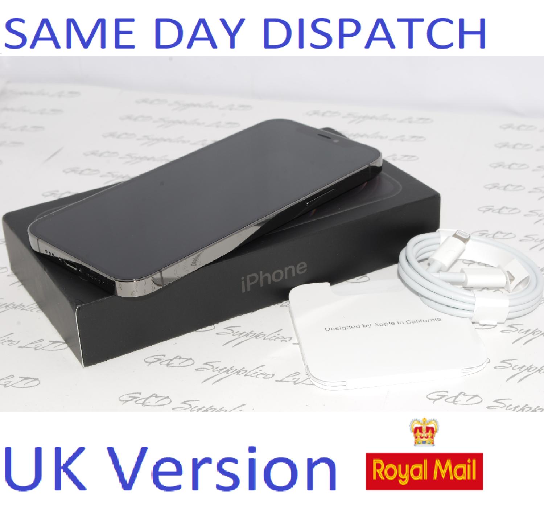 Apple iPhone 12 Pro MGMK3B/A 128GB Graphite Unlocked Sim-free  12MP UK Version NEW Condition #