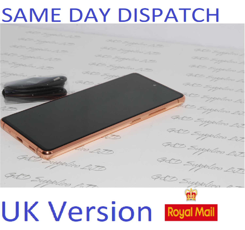 SAMSUNG Galaxy S20 FE 4G SM-G780F/DS unlocked 128GB ORANGE UK Version NO BOX