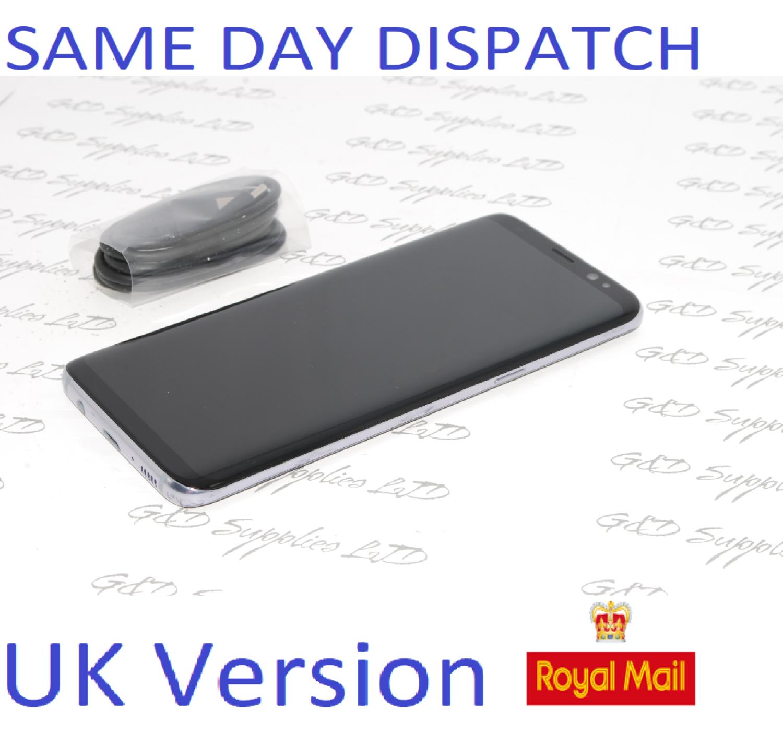 Samsung Galaxy S8 G950F GRAY 64GB UNLOCKED 4G LTE SIM FREE UK STOCK NO BOX #