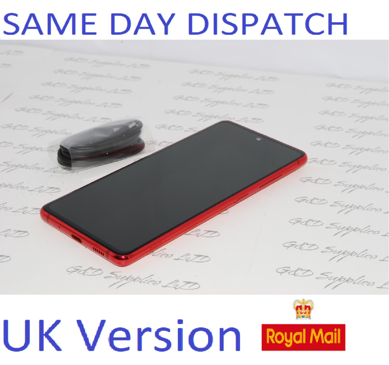 SAMSUNG Galaxy S20 FE 4G SM-G780F/DS unlocked 128GB RED UK Version NO BOX