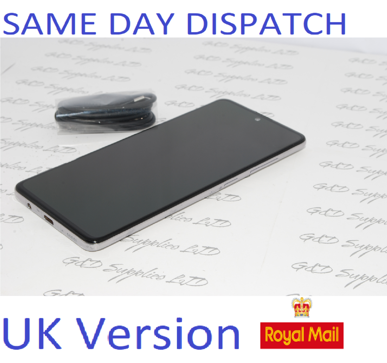 Samsung Galaxy A51 (SM-A515F/DS) - 128GB Haze Crush Silver Dual Sim UNLOCKED  UK Version NO BOX
