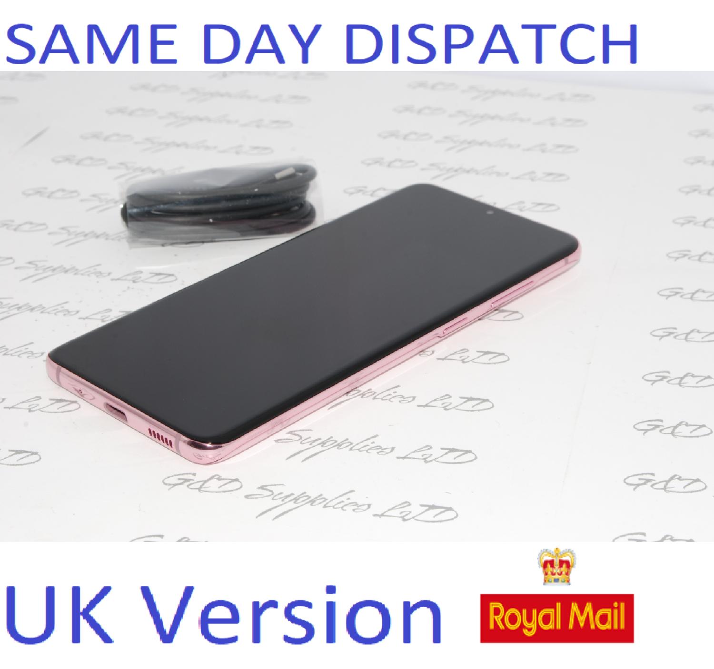 Samsung Galaxy S20 G981B/DS 128GB 12GB 5G Cloud Pink Dual Sim unlocked  UK Version NO BOX