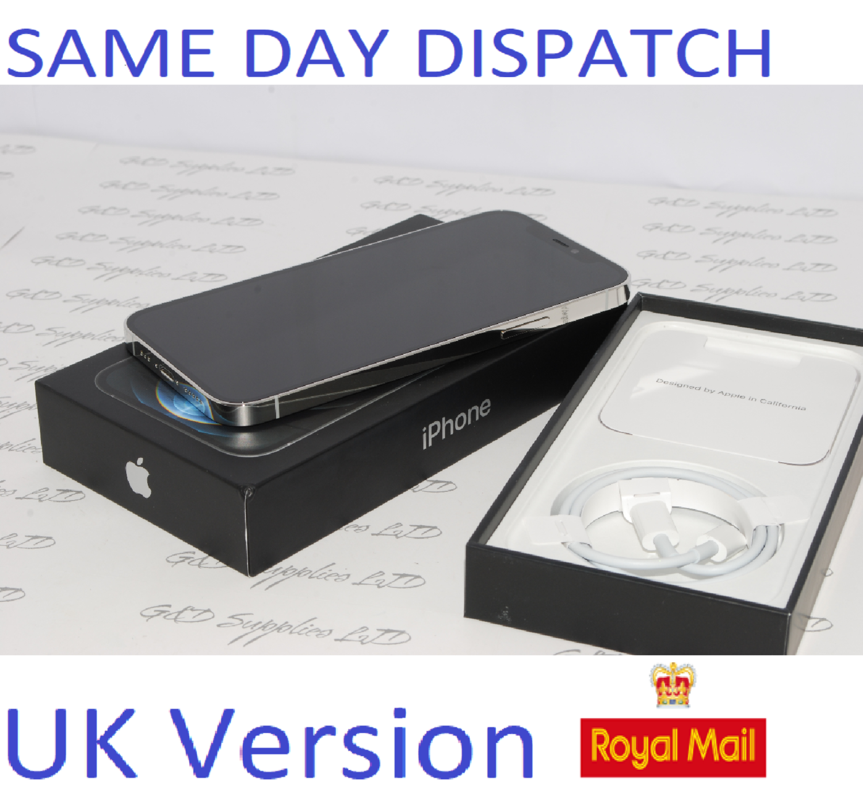 Apple iPhone 12 Pro MGML3B/A 128GB Silver Unlocked Sim-free  12MP UK Version NEW Condition #