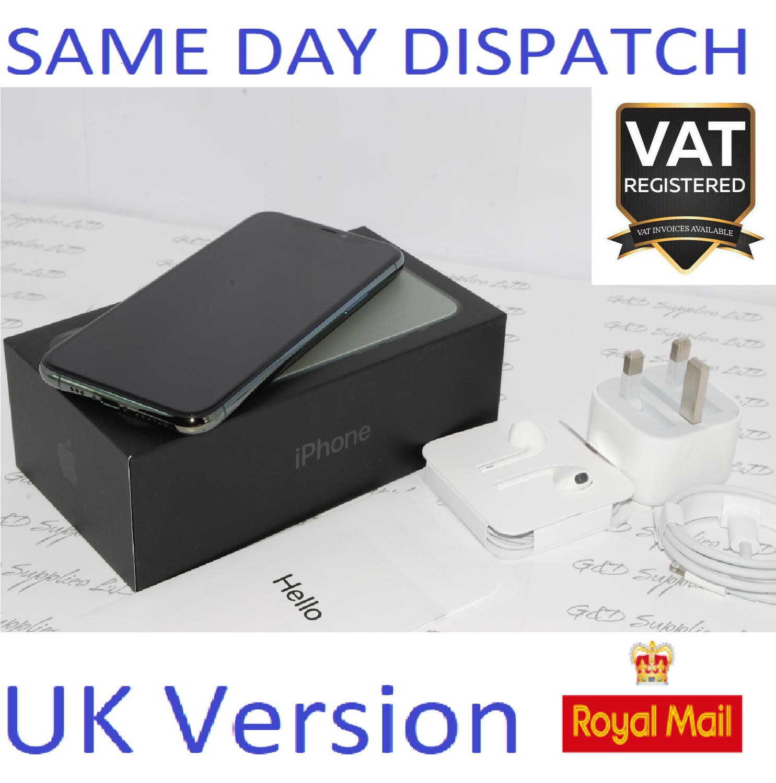 Apple iPhone 11 PRO 64GB Green sim-free unlocked NEW Condition UK Version #
