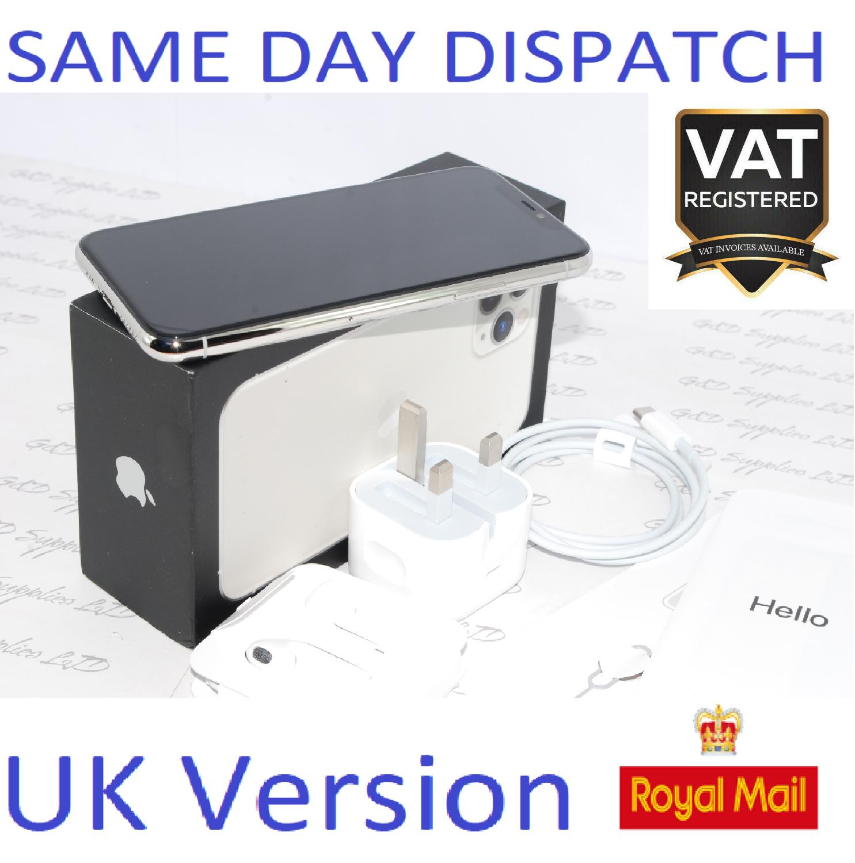 Apple iPhone 11 PRO 64GB silver sim-free unlocked NEW Condition UK Version #