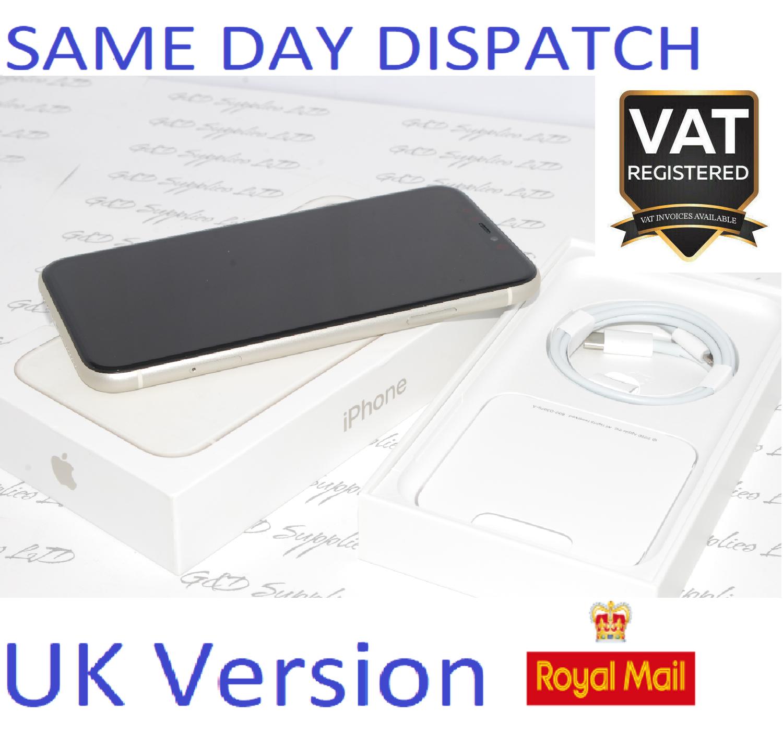 Apple iPhone 11 64GB Mobile sim-free white unlocked UK Version NEW Condition #