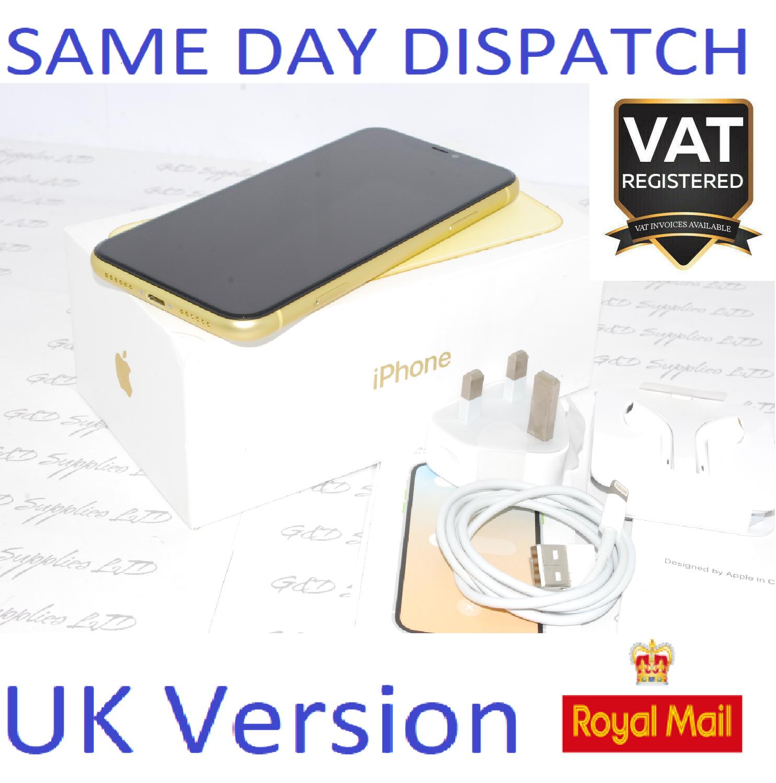 APPLE iPhone 11 64GB MWLW2B/A SIM Free unlocked UK Version NEW Condition #