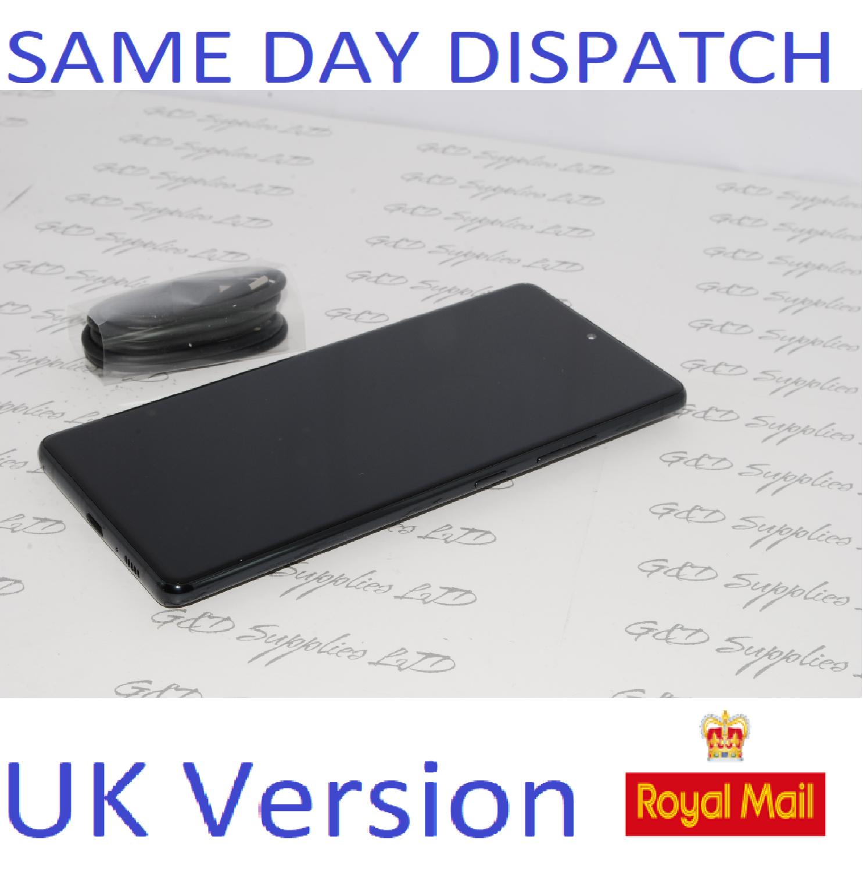 Samsung S10 Lite SM-G770F/DS 128GB 8GB Ram  Black Dual Sim UNLOCKED  UK Version NO BOX