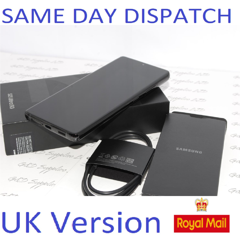 "SAMSUNG S21 Ultra 128GB 6.8"" SIM-free 5G SM-G998B/DS unlocked Dual Sim Black UK Version"