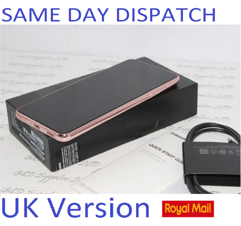 SAMSUNG S21 5G SM-G991B/DS 256GB Pink unlocked Dual Sim UK Version