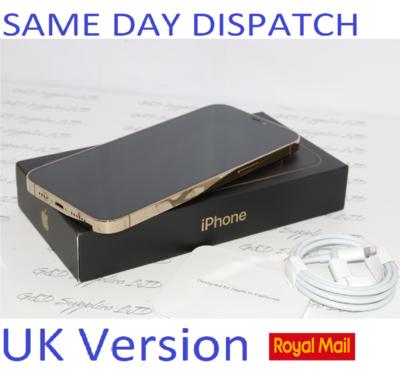 NEW Condition Apple iPhone 12 Pro MAX MGD93B/A 128GB Gold Unlocked Sim-free 12MP UK Version  #