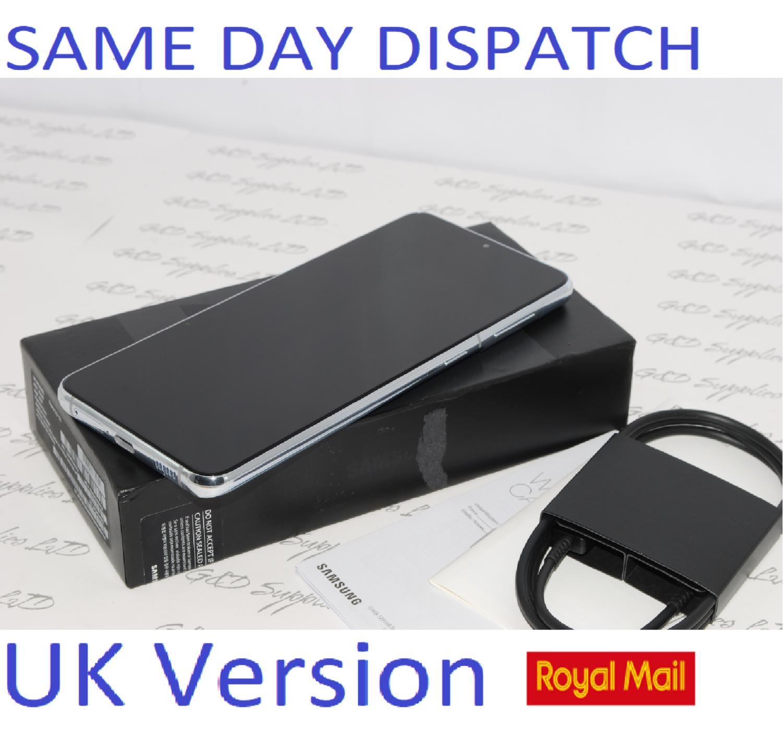 Samsung Galaxy S21 + Plus 5G 128GB Phantom Silver SM-G996B  UK Version