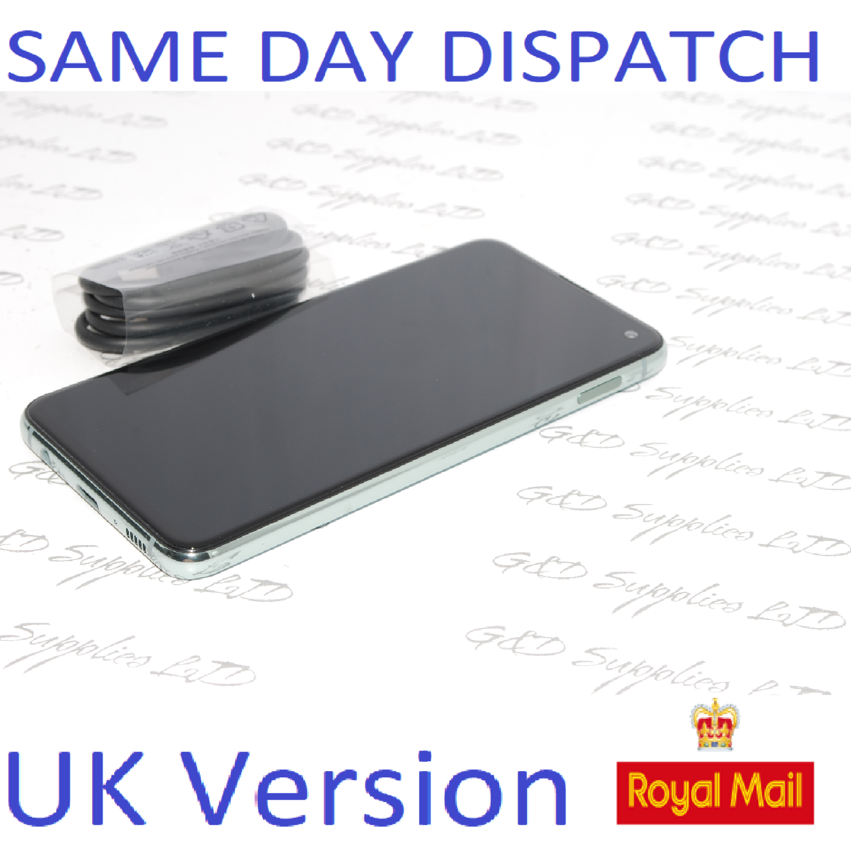 Samsung S10E SM-G970F/DS 128GB Green 4G Dual Sim UNLOCKED  UK Version NO BOX