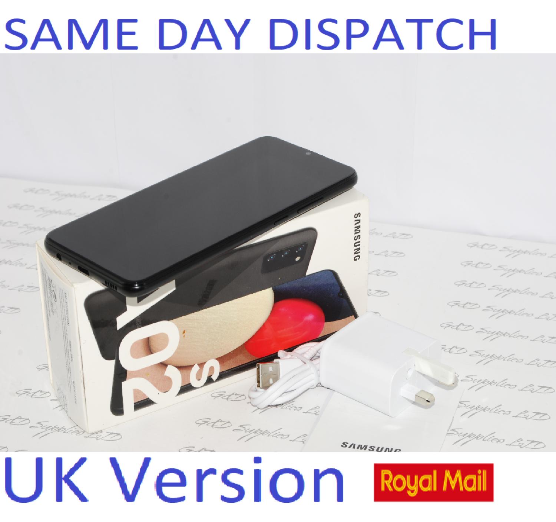Samsung Galaxy A02s (SM-A025G) Unlocked 32GB Dual SIM NFC Smartphone Black UK Version #