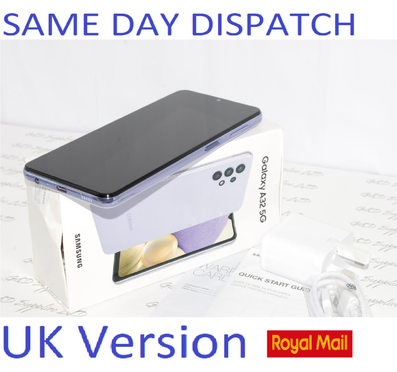 Samsung Galaxy A32 5G 64GB Dual SIM Smartphone Violet unlocked UK Version #