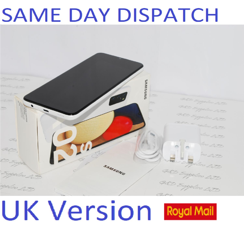 Samsung Galaxy A02s SM-A025G Unlocked 32GB Dual SIM NFC Smartphone White UK Version #