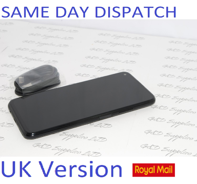 Huawei P40 Lite Sim Free 4G Android 128GB 6GB Black dual sim UNLOCKED UK Version NO BOX