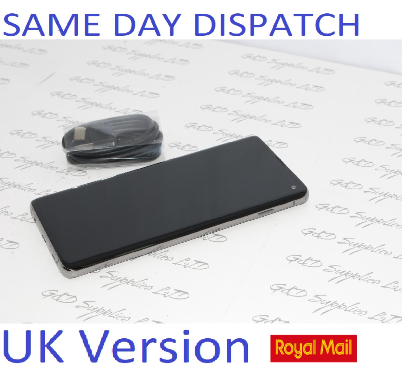 Samsung S10 SM-G973 4G Black 128GB 8GB Ram Dual Sim UNLOCKED UK Version NO BOX