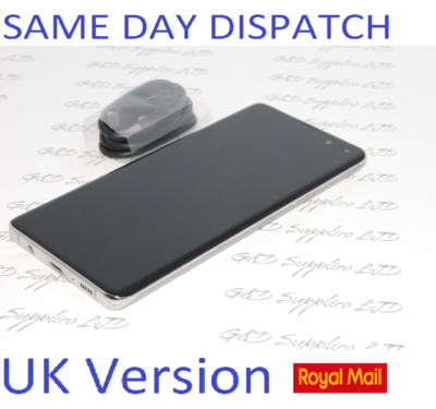 SAMSUNG GALAXY S10 5G SM-G977B 256GB Silver UNLOCKED UK Version NO BOX