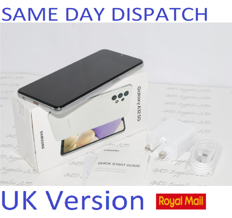Samsung Galaxy A32 5G 64GB Dual SIM Smartphone White unlocked UK Version #