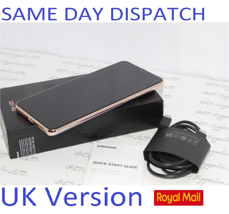 Samsung Galaxy S21 + Plus 5G 256GB Phantom Violet SM-G996B  UK Version
