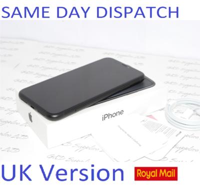 Apple iPhone XR 64GB MRY42BA black unlocked SIM Free UK Version NEW Condition #