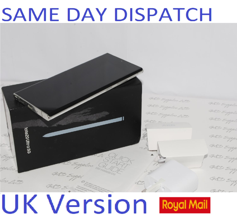 Samsung Note 20 Ultra 5G SM-N986B/DS  256GB  Mystic white UK Version ##