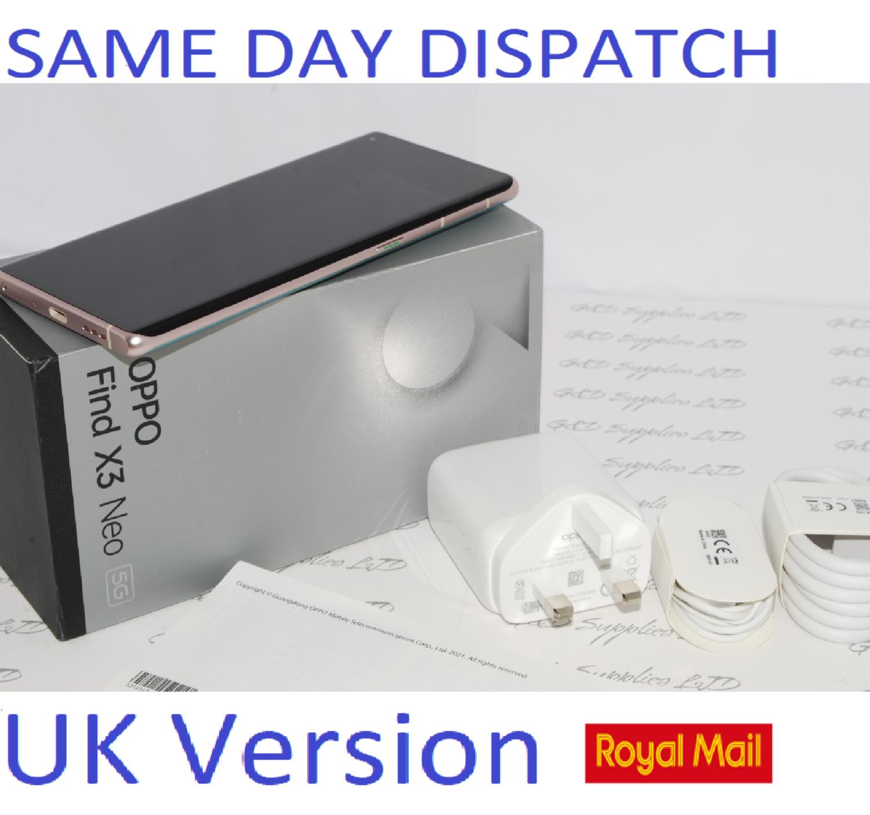 OPPO Find X3 Neo Mobile Smart Phone 256GB Galactic Silver 12GB RAM Unlocked UK version #