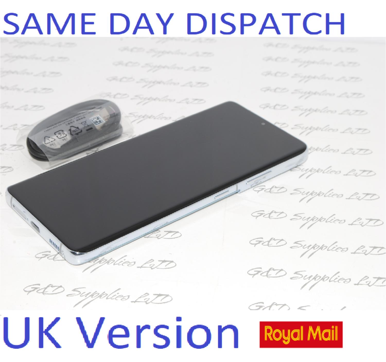 "SAMSUNG S21 Ultra 128GB 6.8"" SIM-free 5G unlocked Dual Sim Silver UK Version No box"