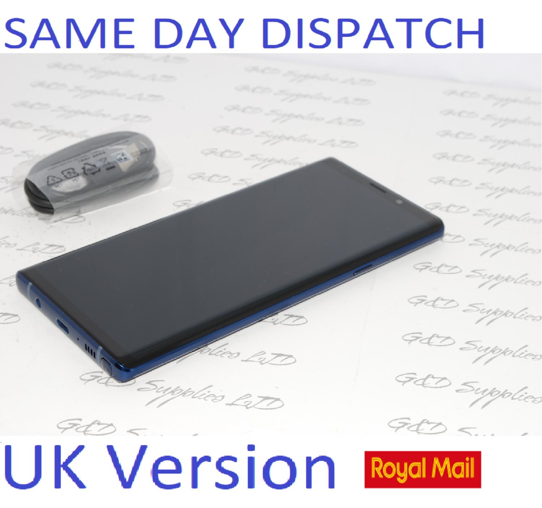 Samsung Galaxy Note 9 SM-N960 128GB Blue UNLOCKED Single SIM UK Version NO BOX #