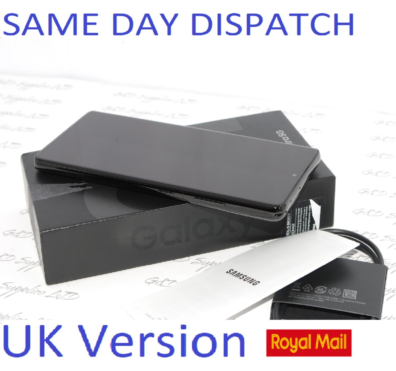 "# SAMSUNG S21 Ultra 256GB 6.8"" SIM-free 5G unlocked Dual Sim Black UK Version"