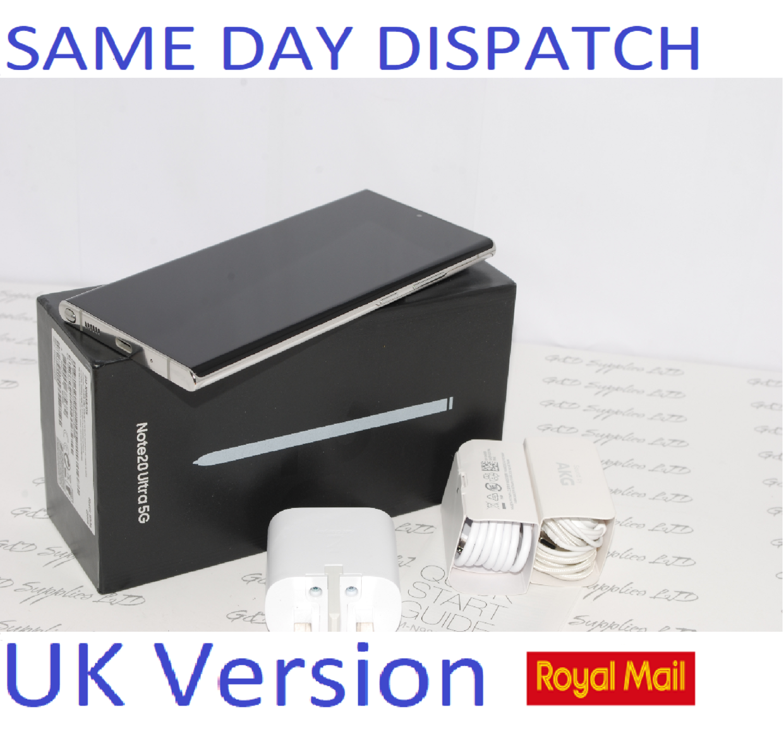 Samsung Note 20 Ultra 5G SM-N986B/DS  256GB  Mystic white UK Version #