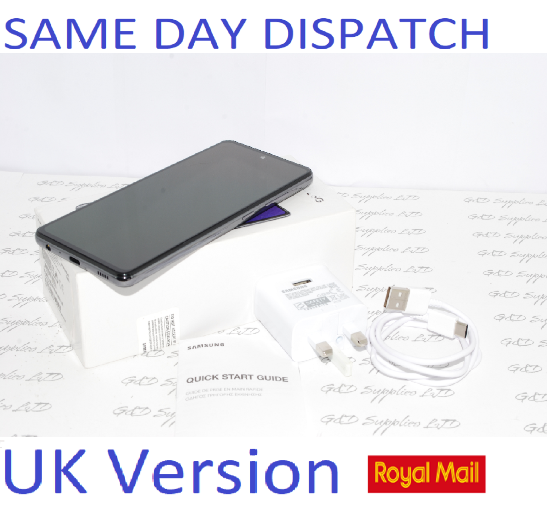 # SAMSUNG GALAXY A52 5G SM-A526B/DS UNLOCKED 6GB RAM 128GB BLACK UK Version